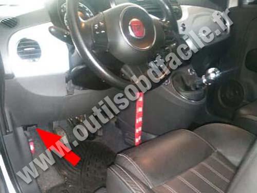 Fiat 500 Sport - Dashboard