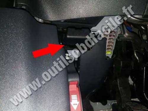 Fiat 500 Sport - Pedals