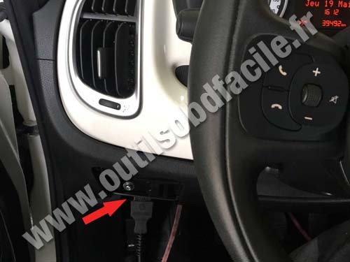 Fiat 500L - Dashboard