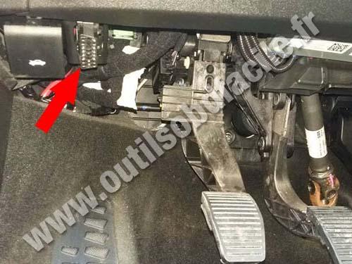 Fiat 500 X - Pedals