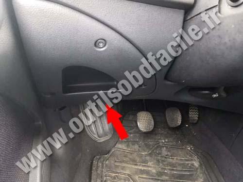 Fiat Bravo - Pedals