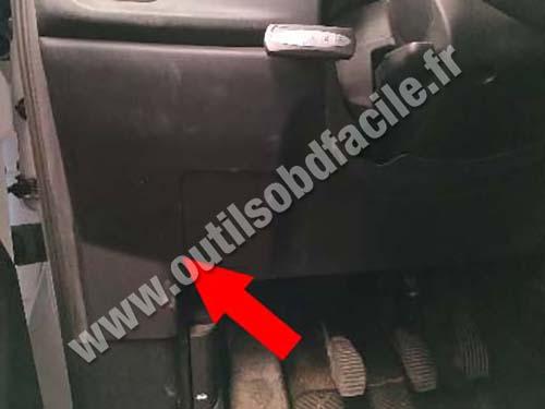 Fiat Doblo - Plastic cover