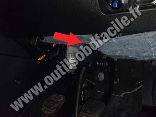 Fiat Doblo Pedals