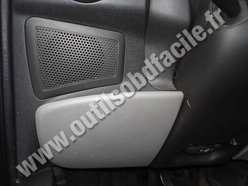 Fiat Doblo 2007 dashboard