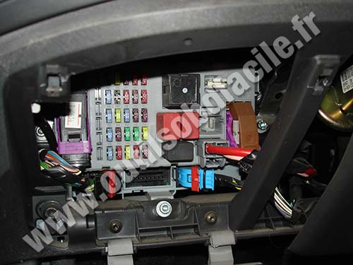 Obd2 Connector Location In Fiat Doblo 2000 2010