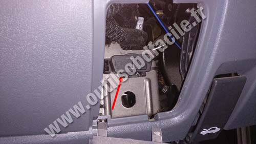 Fiat Ducato OBD connector