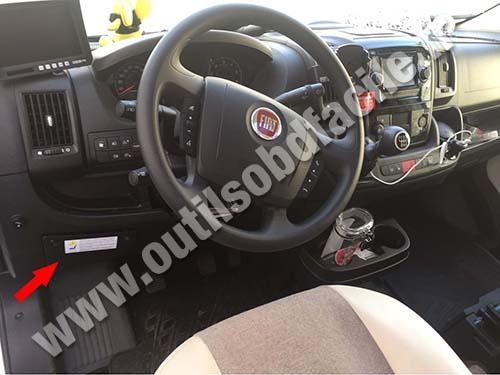Obd2 Connector Location In Fiat Ducato 2014 Outils Obd Facile