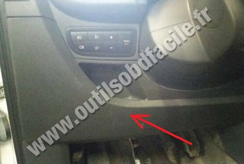 fiat qubo fuse box obd2 connector location in fiat fiorino (2007 - ) - outils ... #7