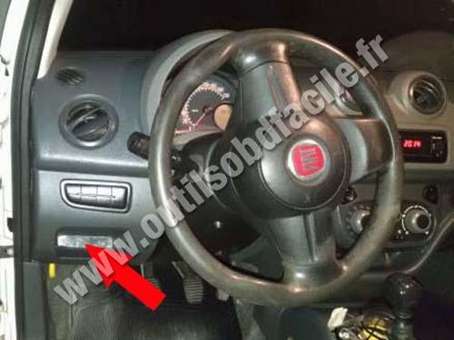 Fiat Fiorino - Dashboard