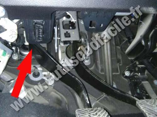 Fiat Fremont Pedals