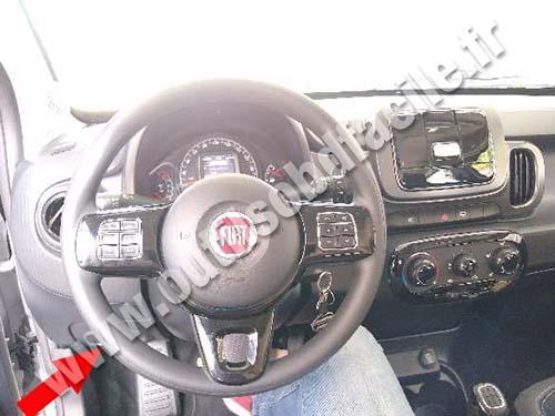 Fiat Mobi - Dashboard