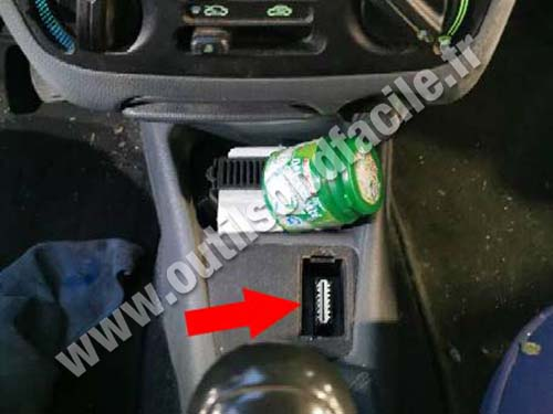 Fiat Palio - Gear lever