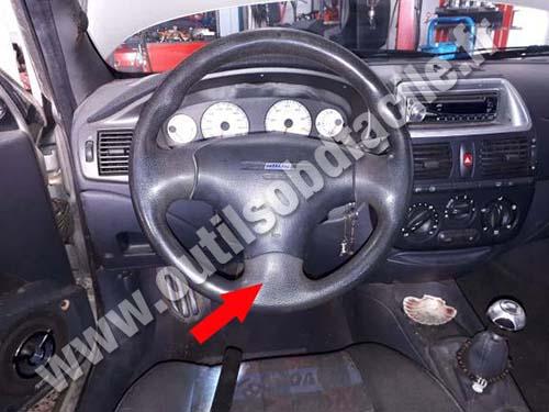 Fiat Punto Dashboard