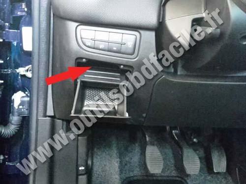Fiat Punto 3 - Storage tray