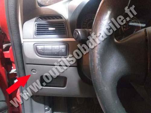 Fiat Punto - Steering wheel