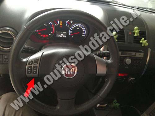 Fiat Sedici - Dashboard