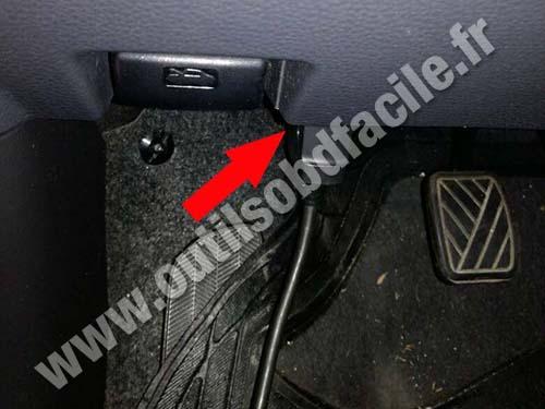 Fiat Sedici - Pedals
