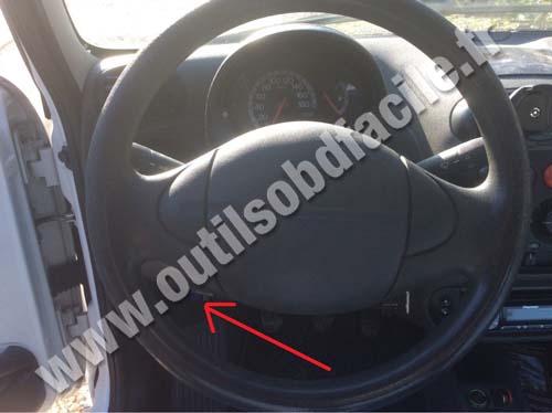Fiat Seicento dashboard