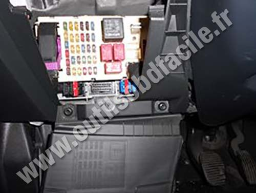 fiat qubo fuse box obd2 connector location in fiat stilo (2001 - 2007 ... #14