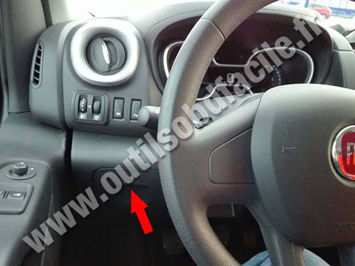 Fiat Talento - Steering wheel