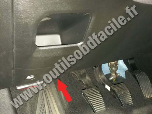 Fiat Tipo Pedals
