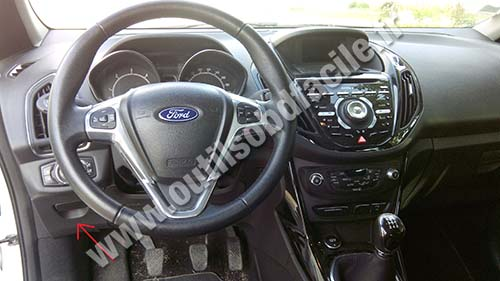 Ford B-Max dashabord