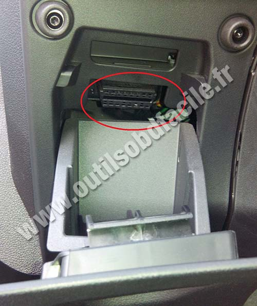 Ford B Max Plug Diag Obd Connector