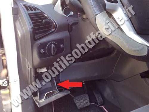 Ford Ecosport - Steering wheel