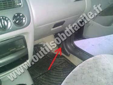 Ford Escort 4c dahsboard