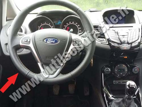 Ford Fiesta VI - Dashboard