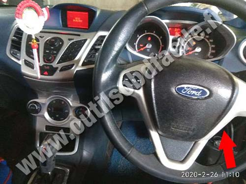 Ford Fiesta - Dashboard