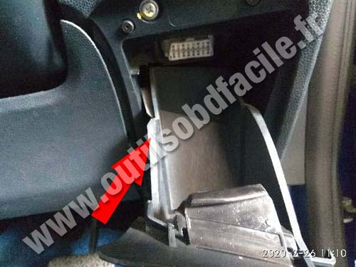 Ford Fiesta - Storage compartment