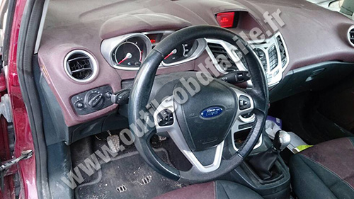 Ford Fiesta dashaboard