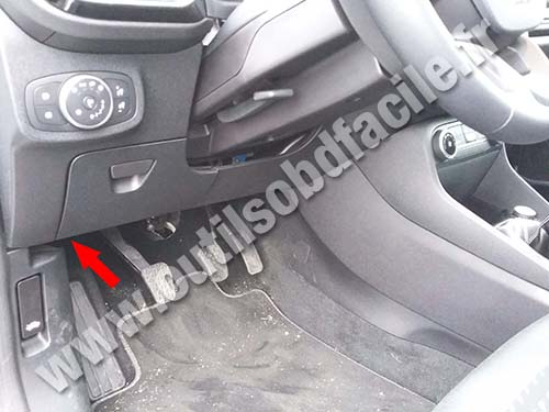 Ford Fiesta - Pedals