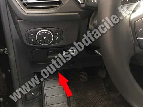 Ford Focus - Pedals