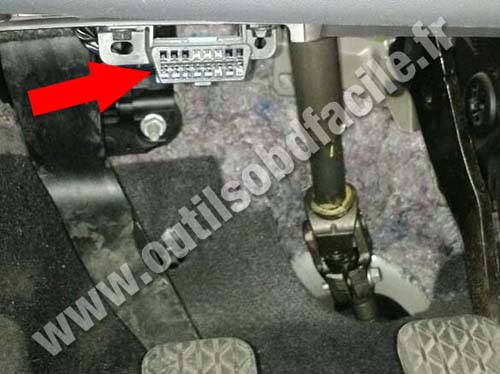 Ford Ka+ - Pedals