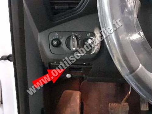 Ford Kuga - Pedals