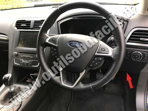 Ford Mondeo Rhd Dashboard