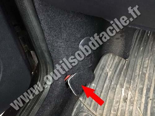 Ford Puma - Driver door upright