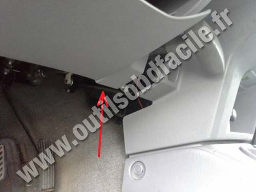 Ford Ranger pedals