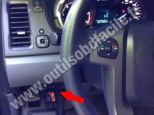 Ford Ranger T6 - Dashboard