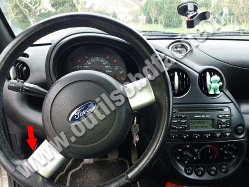 Ford Street Ka - Dashboard