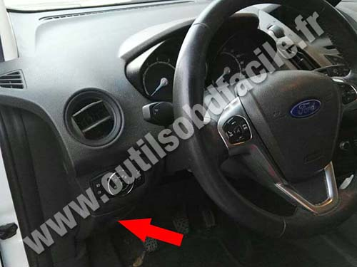 Ford Tourneo Courier - Dashboard