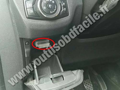 Ford Tourneo Courier - OBD Connector