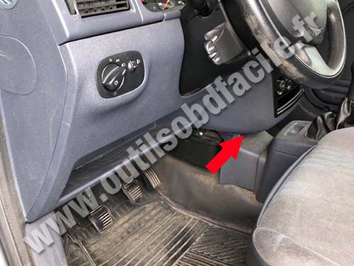 Ford Transit Connect - Central console