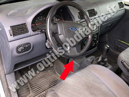Ford Transit Connect - Dashboard