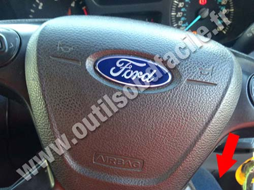 Ford Transit Custom RHD Steering wheel