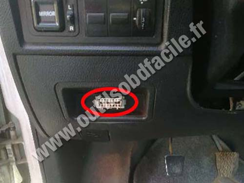 Geely CK - OBD port