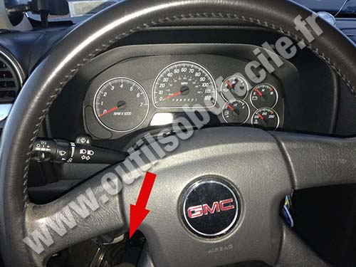 GMC Envoy Steering wheel