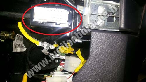 Great Wall Haval H3 OBD2 port